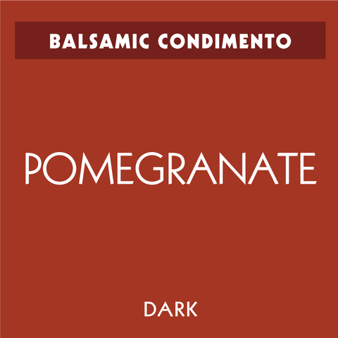 Pomegranate Dark Balsamic Condimento