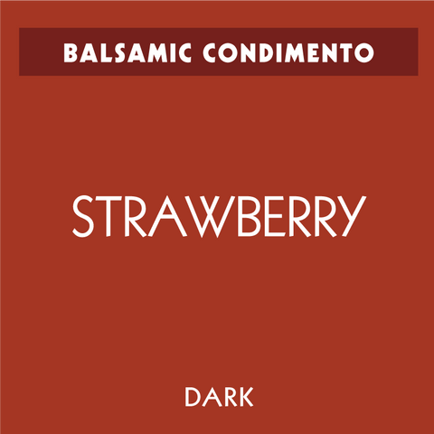 Strawberry Dark Balsamic Condimento