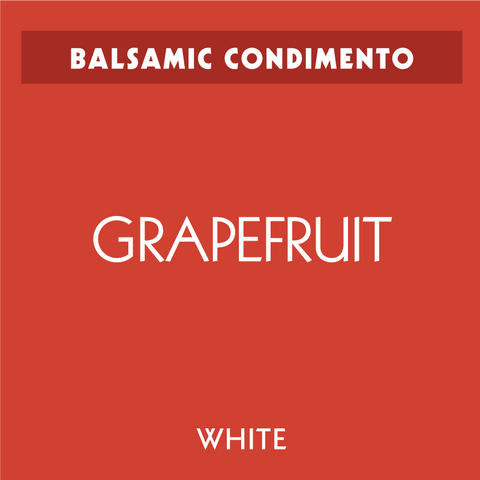 Grapefruit White Balsamic Condimento