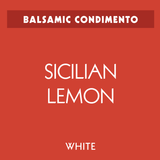 Sicilian Lemon White Balsamic
