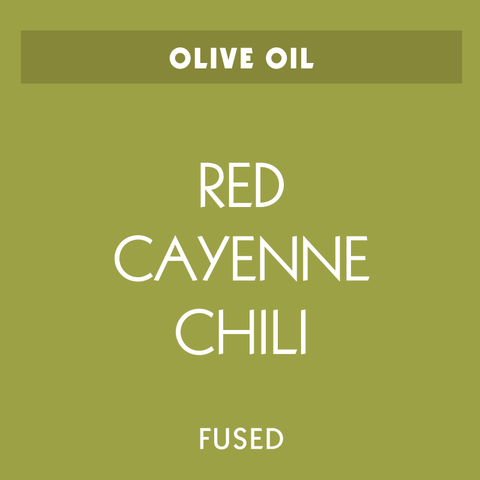 Red Cayenne Chili Fused Olive Oil