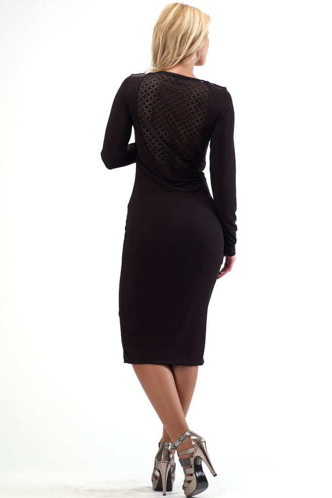 CHRISTY LONG SLEEVED DRESS