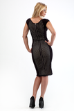 CHRISTY ZIP BACK DRESS