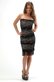 CHRISTY STRAPLESS DRESS