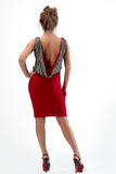 MILA COWL BACK DRESS