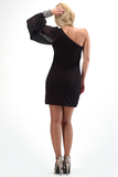 MILA ONE SHOULDER DRESS