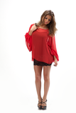 ROXY GYPSY SLEEVE BLOUSE