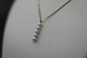Necklace Lily Pearls