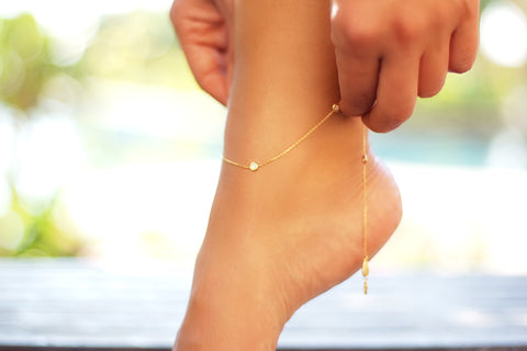 Anklet Constellation Diamond