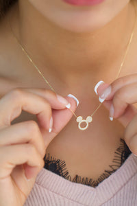 Necklace Mickey- Diamond