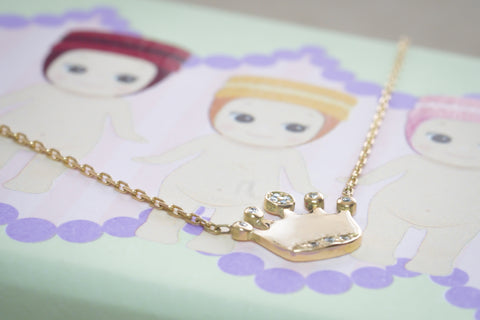 Baby Necklace Crown
