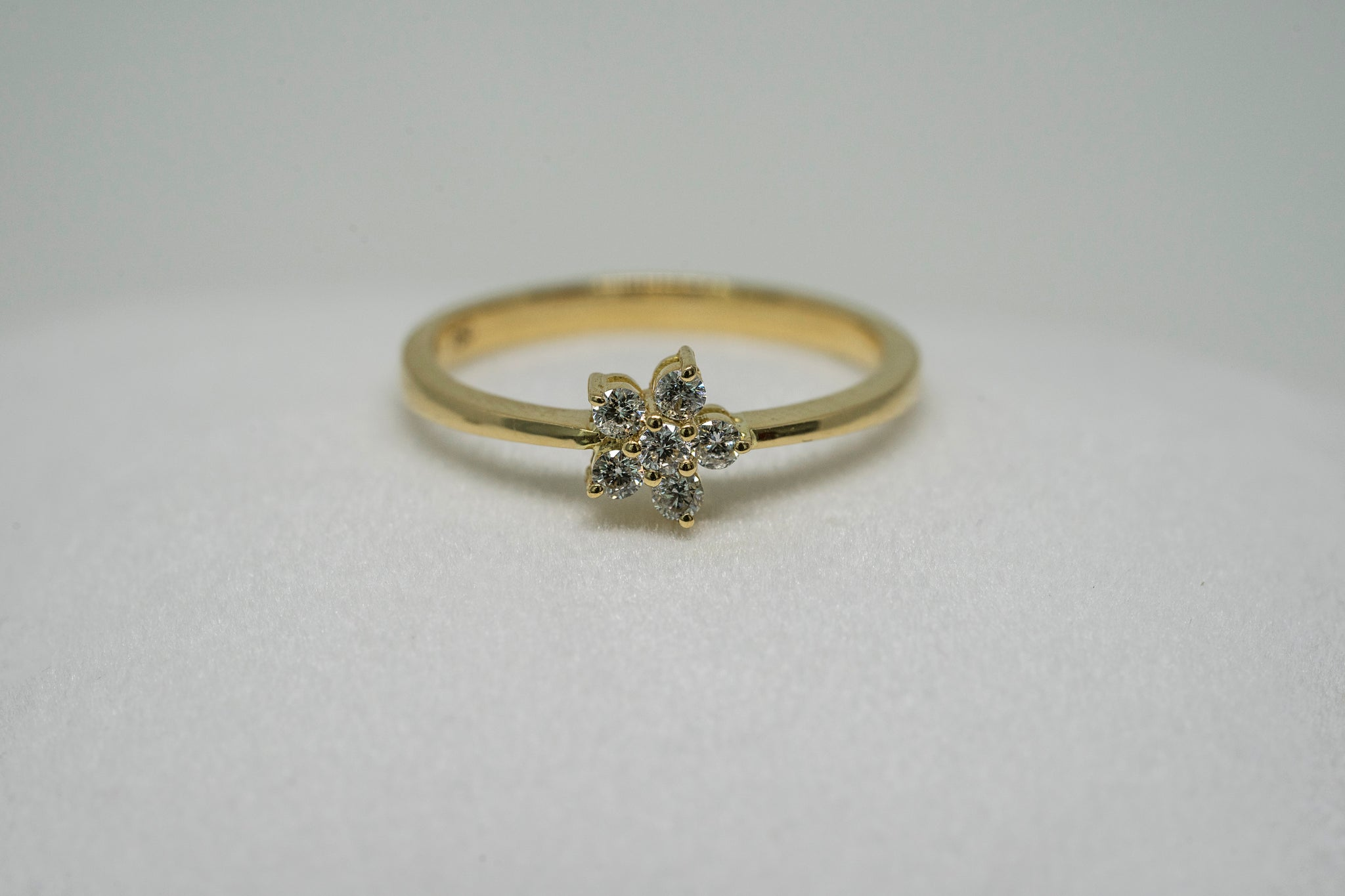 Ring Diamond Fairy Flower