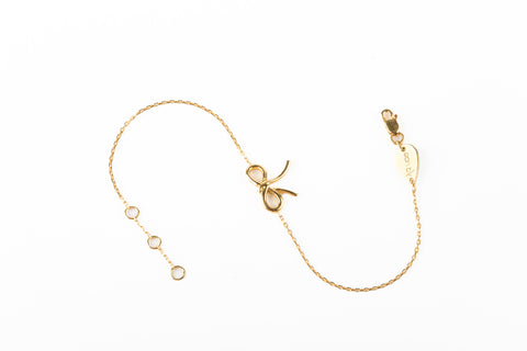 Bracelet Bow-Gold Only
