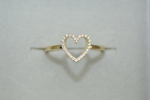Ring Diamond HEART