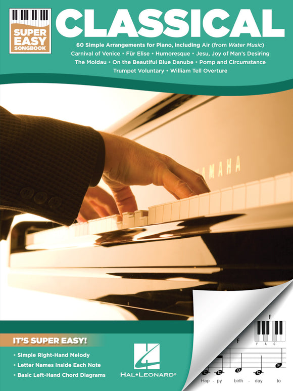 Classical – Super Easy Songbook
