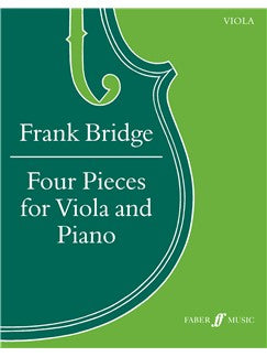 Frank Bridge: Four Pieces For Viola And Piano - Piano Accompaniment