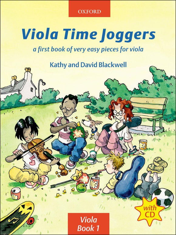 Kathy And David Blackwell: Viola Time Joggers (Book/CD)