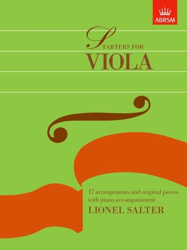 ABRSM Starters For Viola (Piano Accompaniment)