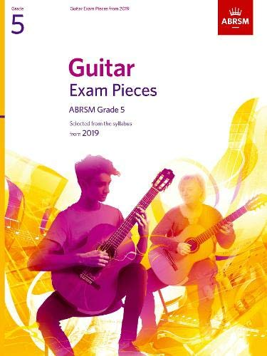 ABRSM: Guitar Exam Pieces From 2019 Grade 5 (Book Only)