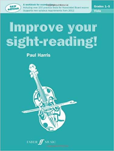Paul Harris: Improve Your Sight-Reading! Viola Grades 1-5 (New Edition)