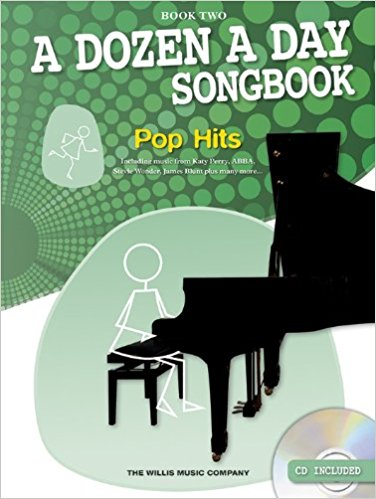 A Dozen A Day: Songbook Piano Pop Hits Book 2 (Book/CD)