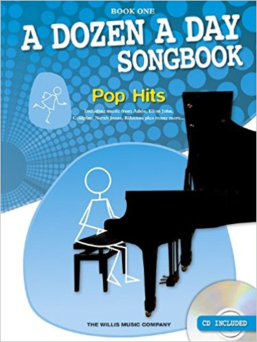 A Dozen A Day: Songbook Piano Pop Hits Book 1 (Book/CD)