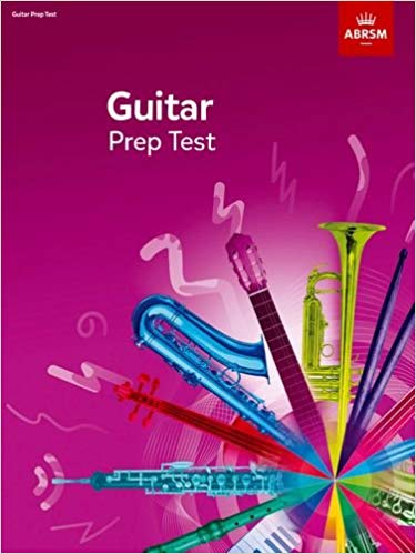 ABRSM: Guitar Prep Test From 2019