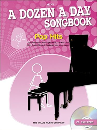 A Dozen A Day: Songbook Piano Pop Hits Mini (Book/CD)