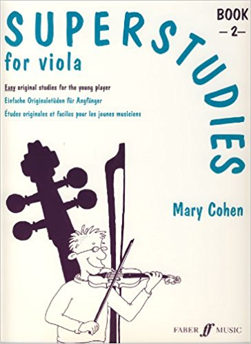 Mary Cohen: Super Studies For Viola, Book 2
