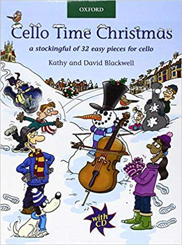 Kathy And David Blackwell: Cello Time Christmas (Book/CD)