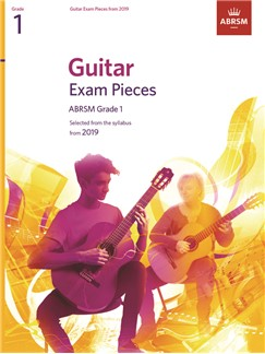 ABRSM: Guitar Exam Pieces From 2019 Grade 1 (Book Only)