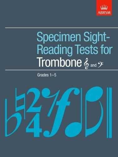 ABRSM: Specimen Sight-Reading Tests For Trombone Grades 1-5