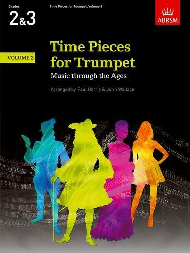 ABRSM: Time Pieces For Trumpet Volume 2 (Grades 2-3)