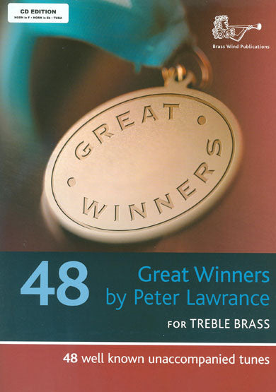 Peter Lawrence: Great Winners For Horn/Tuba (Book/CD)