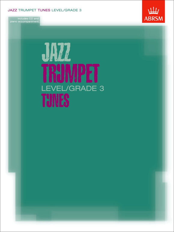 ABRSM: Jazz Trumpet Tunes Level/Grade 3 (Book/CD)