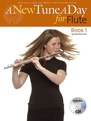 Ned Bennett: A New Tune A Day - Flute Book 1 (CD Edition)