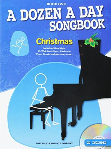 A Dozen A Day: Songbook Christmas Piano Book 1 (Book/CD)