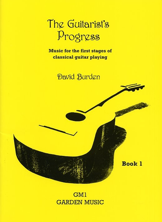 David Burden: The Guitarist's Progress Book 1