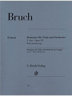 Max Bruch: Romance For Viola And Orchestra In F OP.85 - Piano Accompaniment