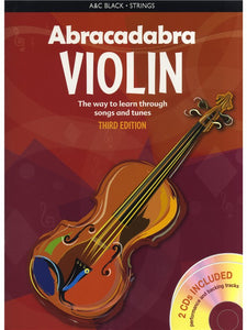 Abracadabra Violin: Third Edition (Book/CD)