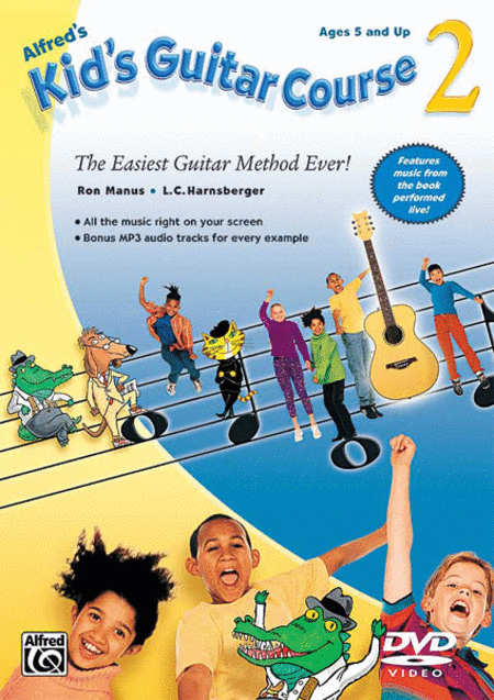 Alfred's Kid's Guitar Course Book 2