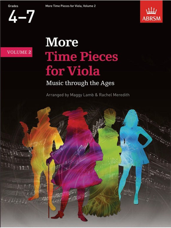 ABRSM: More Time Pieces For Viola Volume 2
