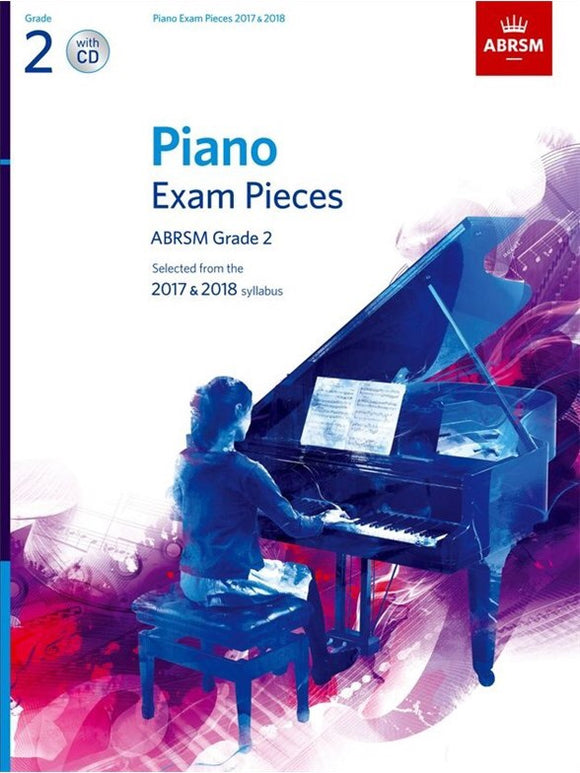 ABRSM: Piano Exam Pieces 2017-2018  Grade 2 (Book/CD)