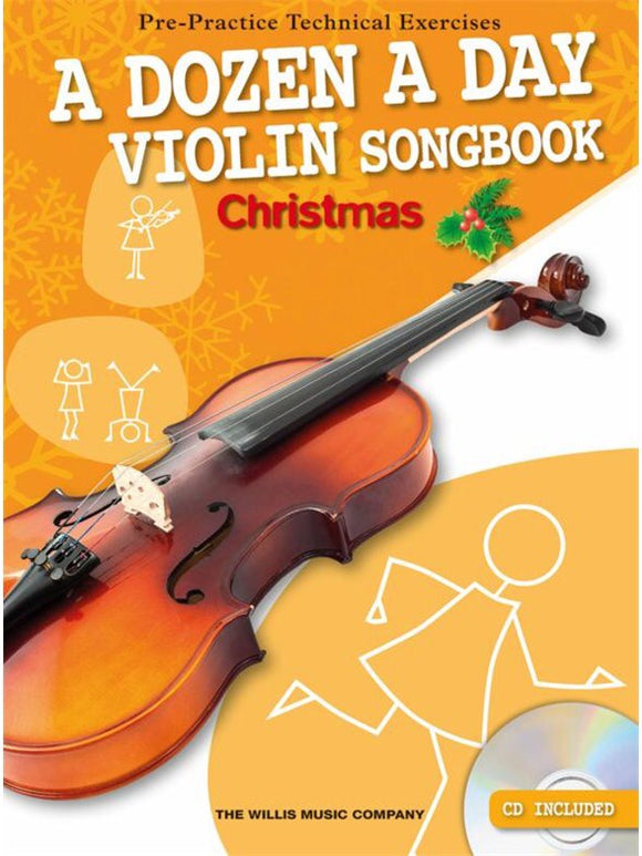 A Dozen A Day: Violin Songbook Christmas (Book/CD)