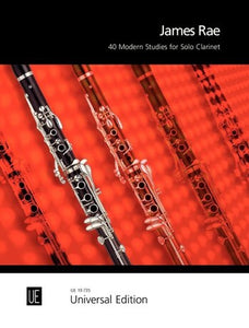 James Rae: 40 Modern Studies For Solo Clarinet