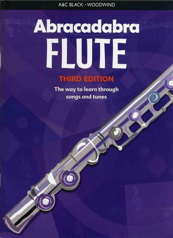 Abracadabra Flute: Third Edition (Book Only)