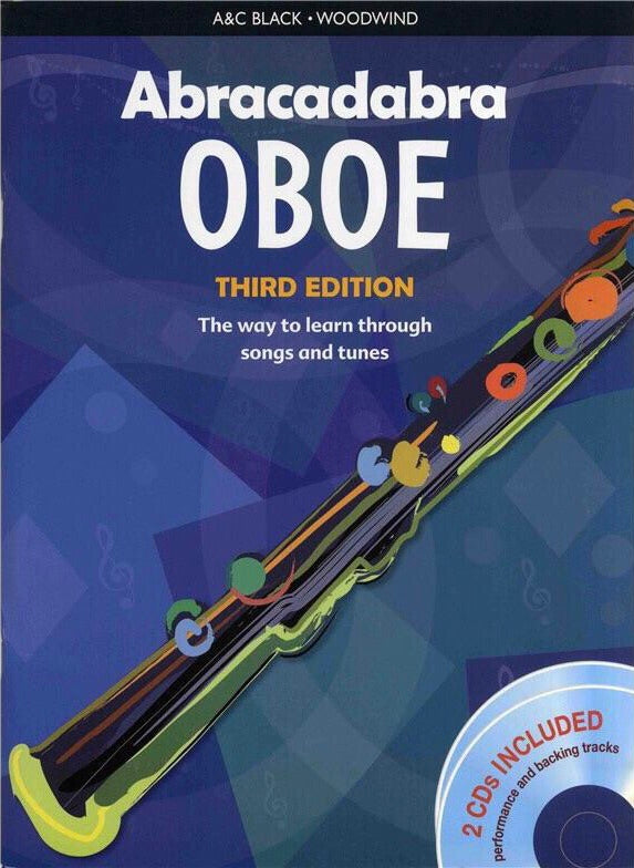Abracadabra Oboe: Third Edition (Book/CD)