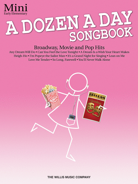 A Dozen A Day: Songbook Piano Mini (Book/CD)