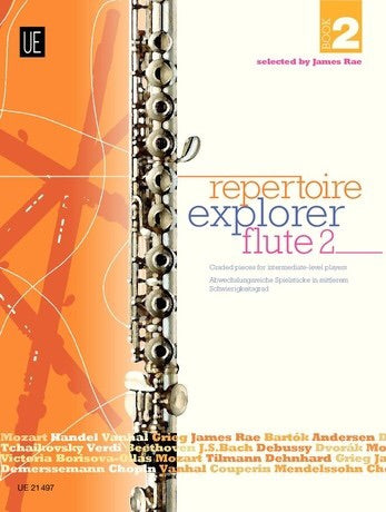 James Rae: Repertoire Explorer Flute Book 2