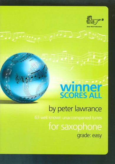 Winner Scores All For Saxophone (Book Only)